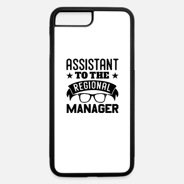 Region Assistant To The Regional Manager Fun - iPhone 7 Plus/8 Plus Rubber Case