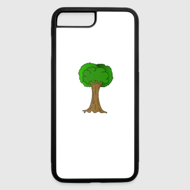 Beautiful Nature Tree Tshirt Design Hugger Tree lover Nature Lover - iPhone 7 Plus/8 Plus Rubber Case