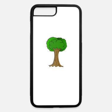 Enviromental Beautiful Nature Tree Tshirt Design Hugger Tree lover Nature Lover - iPhone 7 Plus/8 Plus Rubber Case