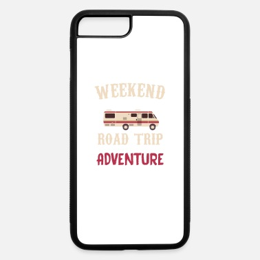 Road Weekend Forecast Road Trip With a Strong Chance - iPhone 7 & 8 Plus Case