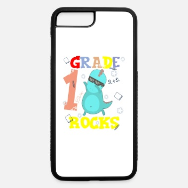School Starter 1ST GRADE ROCKS First Grader School Starter Shirt - iPhone 7 & 8 Plus Case