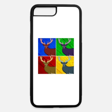 Antler Stag Antler - iPhone 7 Plus/8 Plus Rubber Case