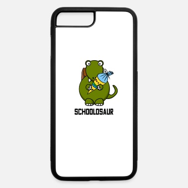 School Starter Schoolosaur Back to school Dinosaur - iPhone 7 & 8 Plus Case