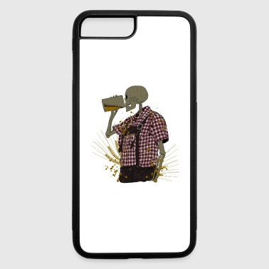 Tradition Oktoberfest tradition skeleton - iPhone 7 Plus/8 Plus Rubber Case
