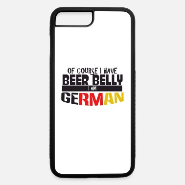 German German - iPhone 7 Plus/8 Plus Rubber Case
