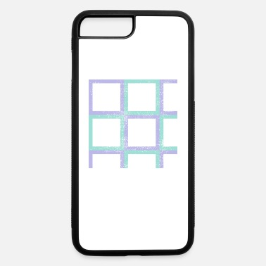 Rectangle rectangles - iPhone 7 Plus/8 Plus Rubber Case