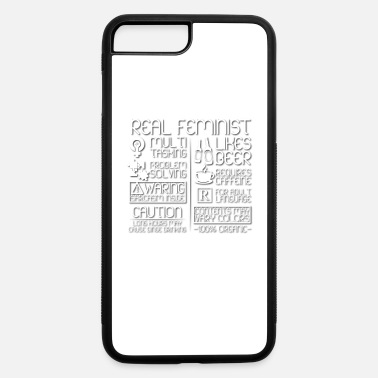 Feminist Real Feminist Traits - iPhone 7 & 8 Plus Case