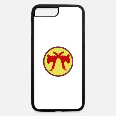 Sparring The Fighter's Sparring Tshirt Design SPARRING - iPhone 7 & 8 Plus Case