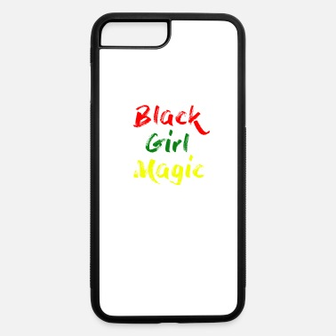 African American Black Girl Magic Female African American Pride T-Shirt - iPhone 7 Plus/8 Plus Rubber Case