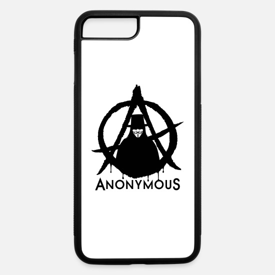 Anonymous iPhone Cases - Anonymous guy - iPhone 7 & 8 Plus Case white/black