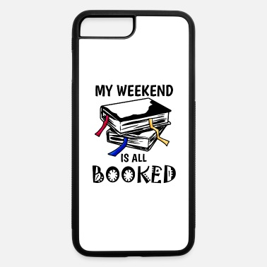 Book booked Book Books Reading Gift Present - iPhone 7 & 8 Plus Case