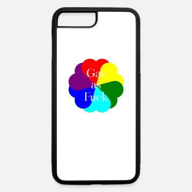 Lbgt Inappropriate Gay as Fuck Lesbian LBGT - iPhone 7 & 8 Plus Case