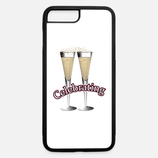 Occasion iPhone Cases - Celebrating,Birthday,Anniversary,Birth T-shirts - iPhone 7 & 8 Plus Case white/black