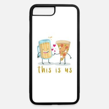 Beer & Pizza Couple | This is Us - iPhone 7 & 8 Plus Case