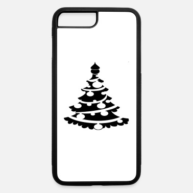 Christmas Funny Christmas Tree T-Shirt White Shirt - iPhone 7 & 8 Plus Case