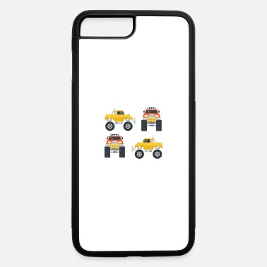 I Am This Many Monster Trucks Old, Boys Monster - iPhone 7 & 8 Plus Case