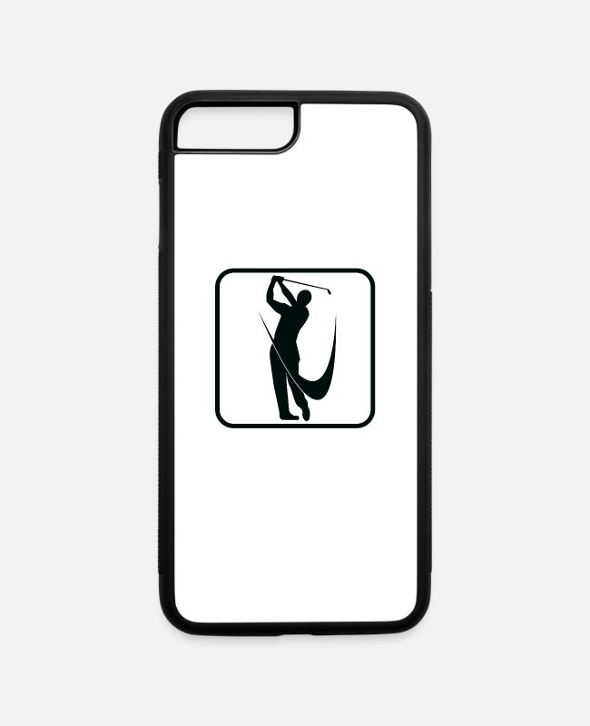 Training iPhone Cases - Golf sport - iPhone 7 & 8 Plus Case white/black
