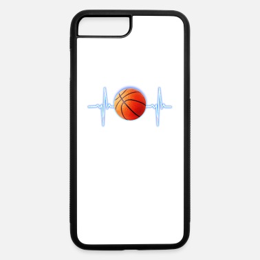 Womens Basketball Basketball Heartbeat Basketball player and fans - iPhone 7 & 8 Plus Case