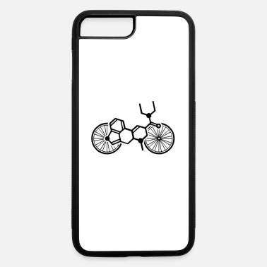 Bicycle LSD Bicycle Day A. Hofman Acid molecule structural - iPhone 7 & 8 Plus Case