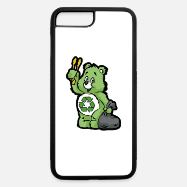 Enviromental TEDDY BEAR RECYCLE RECYCLING TRASH ENVIROMENTAL - iPhone 7 & 8 Plus Case