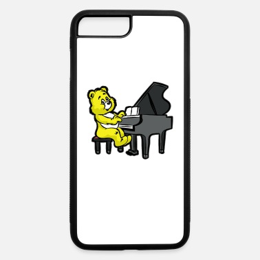 Piano TEDDY BEAR PIANO Pianist Organ Orchestra - iPhone 7 & 8 Plus Case