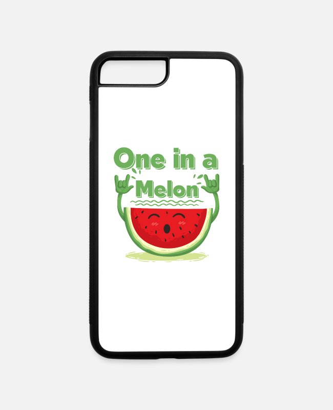 Red iPhone Cases - One in a melon - iPhone 7 & 8 Plus Case white/black