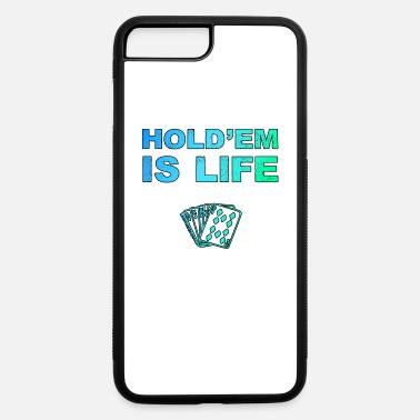 Texas Hold'em Poker Holdem Texas Hold'em playing card - iPhone 7 & 8 Plus Case