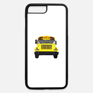Drive-go-by-car i drive a school bus and car studen drive car bus - iPhone 7 & 8 Plus Case