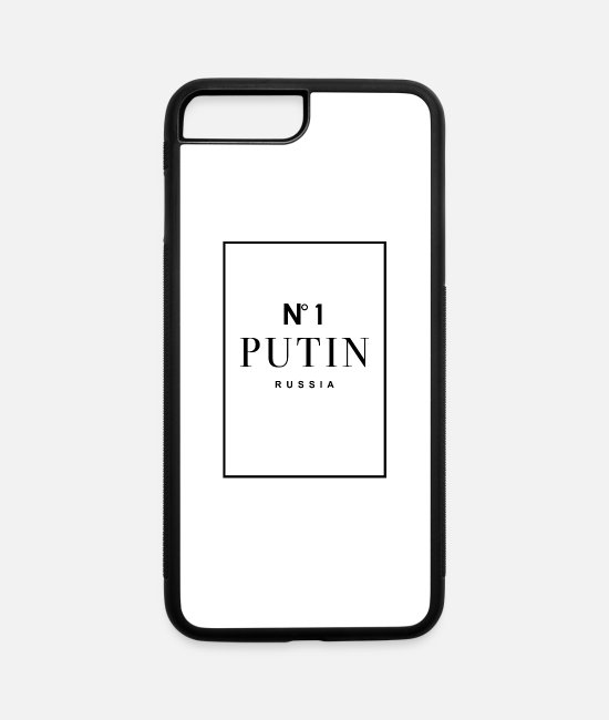 President iPhone Cases - Putin, President, Russia - iPhone 7 & 8 Plus Case white/black