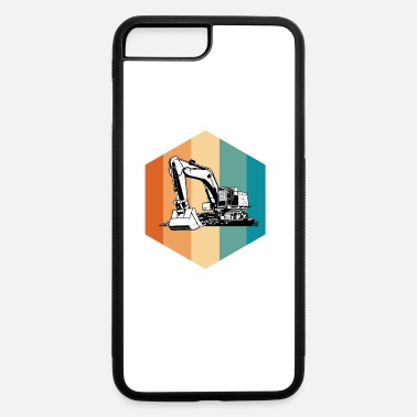 Heavy Machinery Retro Style Heavy Equipment Operator Funny Backhoe - iPhone 7 & 8 Plus Case