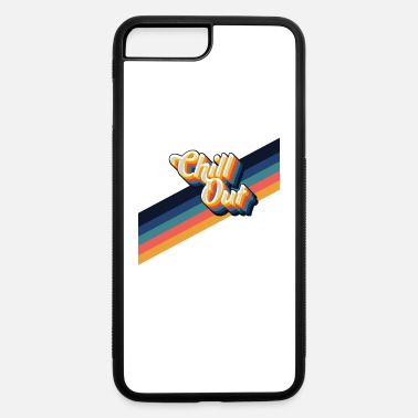 chill out design with retro stripes - iPhone 7 & 8 Plus Case