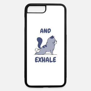 Funny Yoga funny Yoga Cat - iPhone 7 & 8 Plus Case