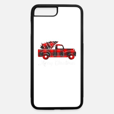 Tree Buffalo Plaid Christmas Tree Red Truck - iPhone 7 & 8 Plus Case