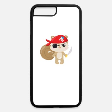 Pirate Animal Pirates Animal Pirate Squirrel Pirate - iPhone 7 & 8 Plus Case