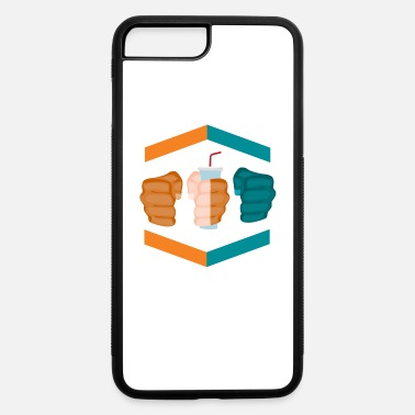 Gamebred Sticker 3 Piece And A Soda Gamebred MMA Dolphins Fighter - iPhone 7 & 8 Plus Case