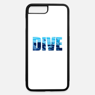 Korallen Tauchen Schnorcheln Meer Scuba Diving Taucher Gesc - iPhone 7 & 8 Plus Case