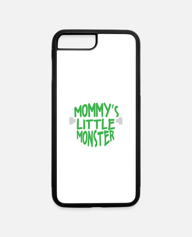 Mummy iPhone Cases - Mommy s little Monster - iPhone 7 & 8 Plus Case white/black