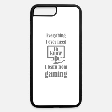 Motto Games Are My School - iPhone 7 & 8 Plus Case