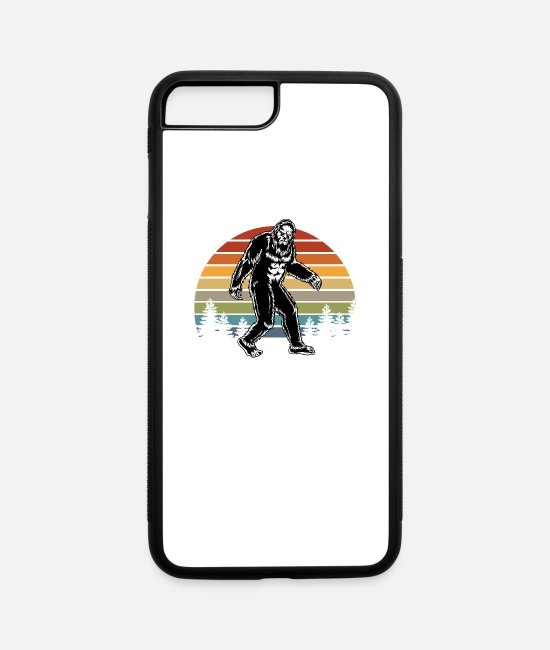 Social iPhone Cases - Bigfoot I Was Social Distancing Before It Was Cool - iPhone 7 & 8 Plus Case white/black