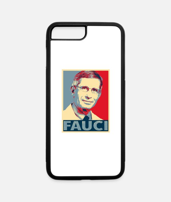 Im With Fauci iPhone Cases - Doctor Anthony Stephen Fauci - Support Dr. Fauci - iPhone 7 & 8 Plus Case white/black
