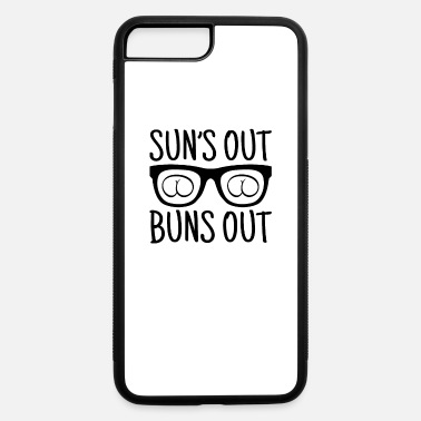 Heat Suns Out Buns Out Summer Good Vibes Bbq Party Gift - iPhone 7 & 8 Plus Case