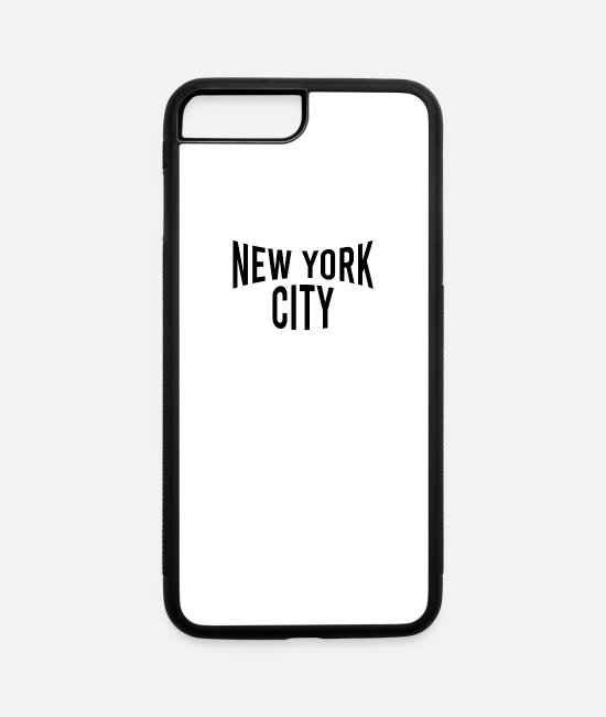 Honor iPhone Cases - Classic Vintage Iconic NYC Vintage - New York City - iPhone 7 & 8 Plus Case white/black