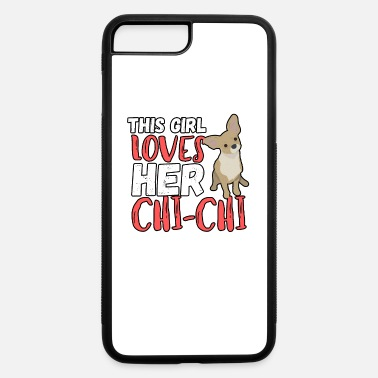 German Shepherd This Girl Loves Her Chihuahua. Dog Lover Gifts - iPhone 7 & 8 Plus Case