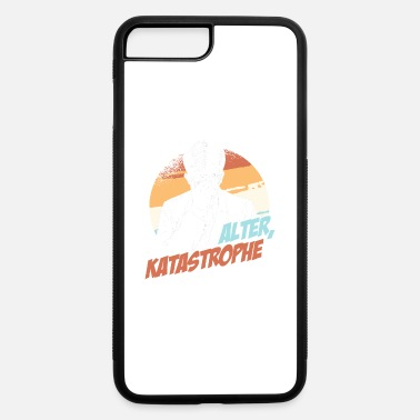 Eskalieren Alter Katastrophe Lustiges Katastrophen Spruch Ges - iPhone 7 & 8 Plus Case