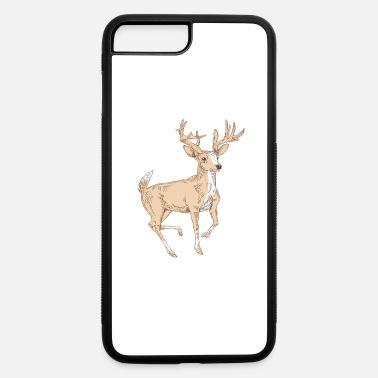 Raider Deer Illustration - iPhone 7 & 8 Plus Case