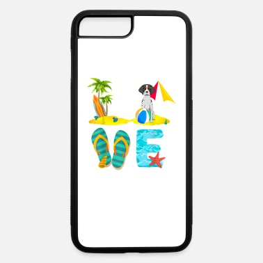 Summer Vacation Shirts German Shorthaired Pointer - iPhone 7 & 8 Plus Case