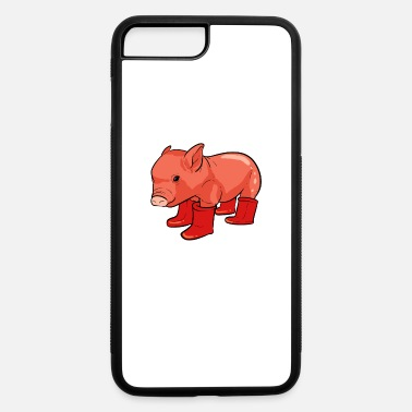 Prince Pig Rainy Day Adventurous and Nature Lover Gift - iPhone 7 & 8 Plus Case