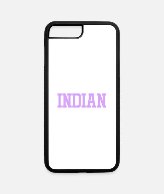 Proud iPhone Cases - Super Awesome Indian Mom Country Pride - iPhone 7 & 8 Plus Case white/black