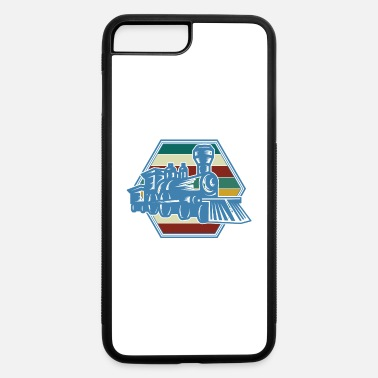 Commuter Trains Vintage Retro Train Design - iPhone 7 & 8 Plus Case