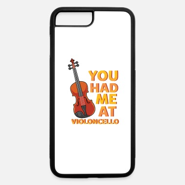 Hipster Violin - You Had Me At Violoncello - Concert - iPhone 7 & 8 Plus Case